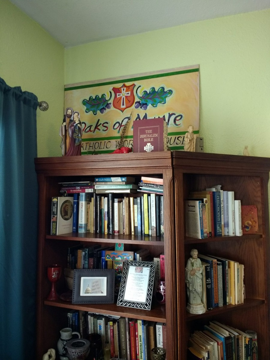 The Bookshelf is Finished!