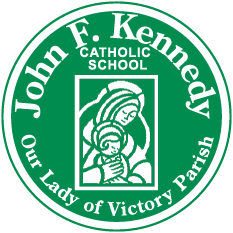 John F. Kennedy Catholic School logo